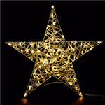 LEDモチーフライト スタンディングスター 90cm 電球色(常点/防滴型)の詳細ページへ