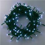 100球LED 12m ホワイト(緑コード/コントローラー付き/防滴型)の詳細ページへ