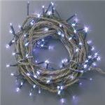 100球LED 12m ホワイト(透明コード/コントローラー付き/防滴型)の詳細ページへ