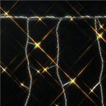 120球LEDアイスクルライト 270cm レモンゴールド(透明コード/コントローラー付き/防滴型)の詳細ページへ