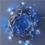 100球LED 12m ホワイト/ブルー(透明コード/常点/防滴型)の詳細ページへ