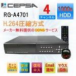 1TB標準装備!CEPSA(セプサ) 監視カメラ録画装置 4ch用 HDDデジタルビデオレコーダー