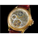 GALLUCCI(ガルーチ) 腕時計 スケルトン 自動巻き WT23145SK-GD