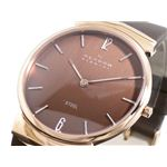 SKAGEN(スカーゲン) 腕時計 レザー メンズ 695XLRLD