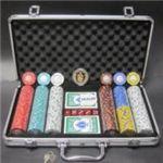 フォースポット・ポーカーセット300 -シルバー(チップセット)の詳細ページへ