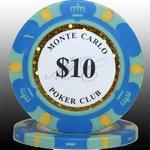 MONTECARLO モンテカルロ・ポーカーチップ<10>青 25枚セットの詳細ページへ
