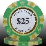 MONTECARLO モンテカルロ・ポーカーチップ<25>緑 25枚セットの詳細ページへ