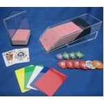 <実用版>カードシュー・デスカードボックスセット-6デック用の詳細ページへ