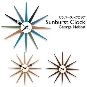 ジョージ・ネルソン サンバーストクロック メープル 掛け時計