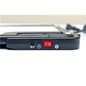 デスクヒーター(パネルヒーター/暖房器具) 46cm×36cm 3時間自動オフタイマー/専用カバー付き