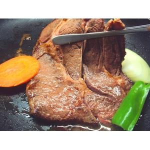 焼肉問屋 ジャンボ熟成ロースステーキ 4人分 1kg(1人前250g)