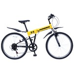 折畳み自転車 HUMMER FサスFD-MTB266SE MG-HM266Eの詳細ページへ