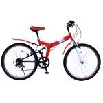 折畳み自転車 FIELD CHAMP WサスFD-MTB266S MG-FCP266Eの詳細ページへ