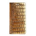 Galaxy S6 edge ケース】GAZE Gold Croco Diary(ゲイズ ゴールドクロコダイアリー) GZ6115GS6E ゴールド