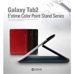 Z384GT2★ GALAXY Tab 10.1 LTE SC-01D★ ESTIME color POINT STAND SERIES-RED