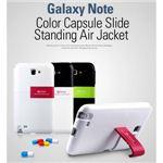 ★GALAXY Note SC-05Dケース Blackblue Capsule Stand Slide スタンド付