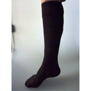 【特許取得済】消臭靴下「宇宙のくつ下」ハイソックス加圧タイプ ブラック F