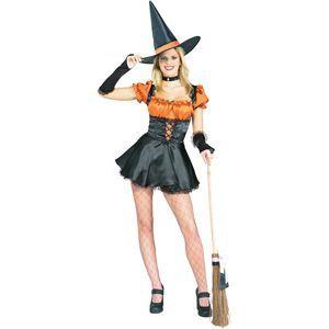 RUBIE'S(ルービーズ) ADULT(アダルト) コスプレ Orange Sexy Witch(オレンジ セクシー ウィッチ) Stdサイズ