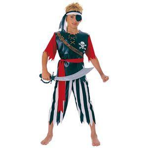 【コスプレ】 RUBIE'S(ルービーズ) CHILD(チャイルド) コスプレ Pirate King(パイレット キング) Mサイズ