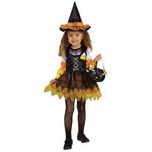 【コスプレ】 RUBIE'S(ルービーズ) CHILD(チャイルド) コスプレ Candy Corn Witch(キャンディー コーン ウィッチ) Todサイズ