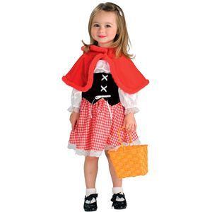 【コスプレ】 RUBIE'S(ルービーズ) CHILD(チャイルド) コスプレ Red Riding Hood(レッド ライディング フード) Todサイズ