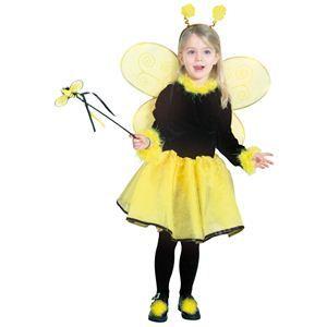 【コスプレ】 RUBIE'S(ルービーズ) CHILD(チャイルド) コスプレ Pretty HoneyBee(プリティー ハニービー) Todサイズ