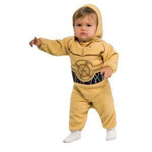 【コスプレ】 RUBIE'S(ルービーズ) STAR WARS(スターウォーズ) コスプレ Baby C-3PO(C-3PO) Todサイズ