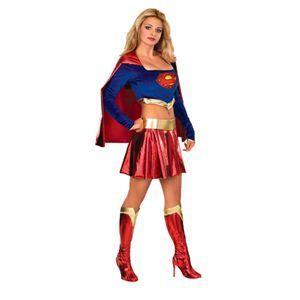 【コスプレ】 RUBIE'S(ルービーズ) SUPERMAN(スーパーマン) コスプレ Adult Supergirl(スーパーガール) Stdサイズ