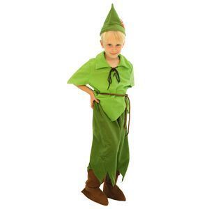 【コスプレ】 RUBIE'S(ルービーズ) DISNEY(ディズニー) コスプレ ピーターパンシリーズ Child Peter Pan(ピーター・パン) Todサイズ