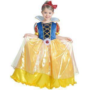 【コスプレ】 RUBIE'S(ルービーズ) DISNEY(ディズニー) コスプレ PRINCESS(プリンセス)シリーズ 白雪姫 Child DX Snow White(チャイルド スノウ ホワイト) Sサイズ