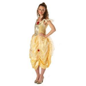 【コスプレ】 RUBIE'S(ルービーズ) DISNEY(ディズニー) コスプレ PRINCESS(プリンセス)シリーズ 美女と野獣 Adult Belle(ベル) Stdサイズ