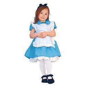 【コスプレ】 RUBIE'S(ルービーズ) DISNEY(ディズニー) コスプレ Child Alice(アリス) Todサイズ