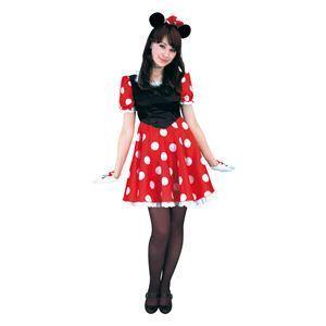 【コスプレ】 RUBIE'S(ルービーズ) DISNEY(ディズニー) コスプレ Adult Pretty Minnie(プリティー ミニー) Stdサイズ
