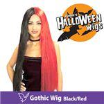 RUBIE'S (ルービーズ) 51199 Gothic Wig -Black/Red(ウィッグ)