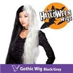RUBIE'S (ルービーズ) 51381 Gothic Wig -Black/Grey(ウィッグ)