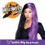 RUBIE'S (ルービーズ) 51380 Gothic Wig -Black/Purple(ウィッグ)