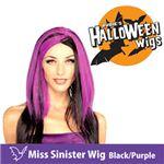 RUBIE'S (ルービーズ) 51464 Miss Sinister Wig - Black/Purple(ウィッグ)