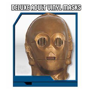 Deluxe adult vinyl masks C-3PO(C-3PO マスク)