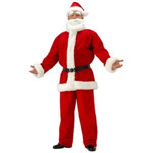 【クリスマスコスプレ】メンズサンタクロースDX ビッグサイズ