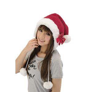 【クリスマスコスプレ】X'masポンポンキャップ