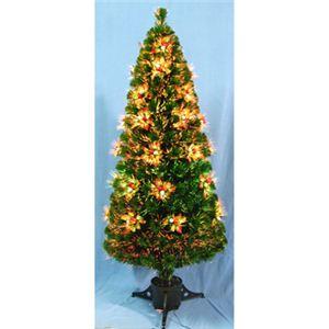 【クリスマス】120cm ファイバークリスマスツリー T338-120