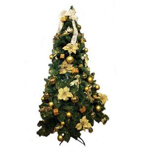 【クリスマス】180cm ゴールデンオーナメントツリー SS701G-180