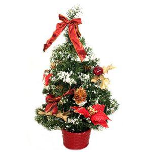 【クリスマス】39cm クリスマスツリー(レッド) C-12439