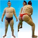 【パーティーグッズ】相撲セット 相撲スーツ 黒の詳細ページへ