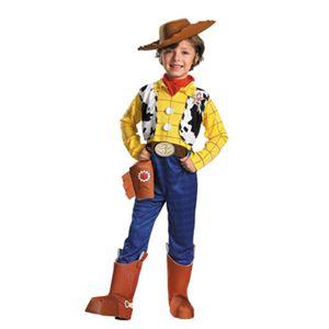【コスプレ】 disguise Toy Story Woody Deluxe Child 7-8 トイストーリー ウッディ 子供用