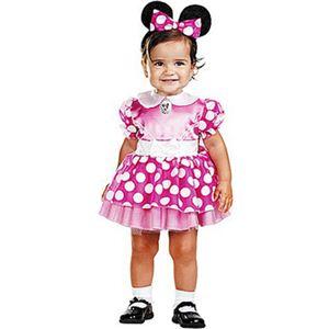 【コスプレ】 disguise Micky Mouse / Clubhouse Minnie Mouse Pink Infant クラブハウス ミニーマウス 幼児用ピンクドレス