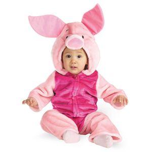 【コスプレ】 disguise Winnie The Pooh / Piglet Toddler Deluxe Plush ピグレット 幼児用コスチューム