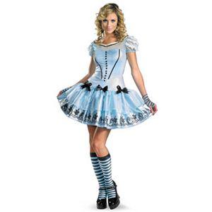 【コスプレ】 disguise Alice In Wonderland Movie / Sassy Blue Dress Alice 12-14 アリスインワンダーランド アリス