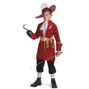 【コスプレ】 disguise Peter Pan / Captain Hook Classic 7-8 ピーターパン フック船長 子供用