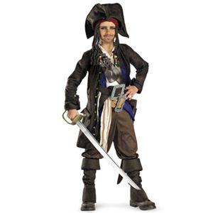【コスプレ】 disguise Pirate Of The Caribbean / Captain Jack Sparrow Prestige Premium Child 4-6 パイレーツ・オブ・カリビアン ジャックスパロウ 子供用